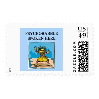 nuevo diseño de la psicología de la edad sellos postales