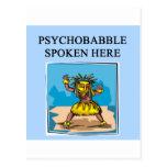 nuevo diseño de la psicología de la edad tarjeta postal