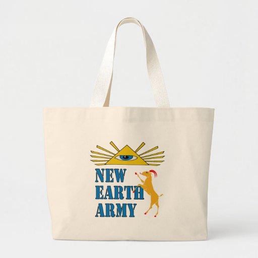 Nuevo ejército de la tierra bolsas