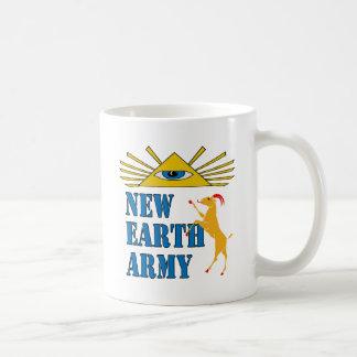Nuevo ejército de la tierra taza
