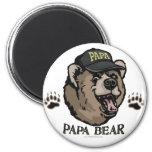 Nuevo engranaje del día de padre del oso de la pap imanes de nevera