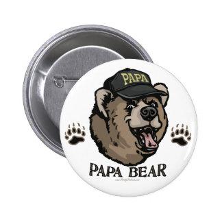 Nuevo engranaje del día de padre del oso de la pap pin