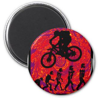 nuevo escándalo de la bici imán redondo 5 cm