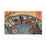 Nuevo estado de ScenesNew York de la letra de Tarjetas Postales