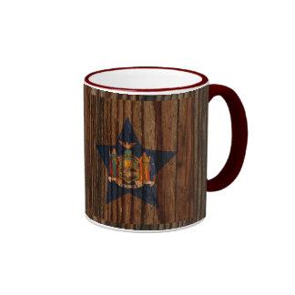 Nuevo+Estrella de la bandera de York en el tema de Taza A Dos Colores
