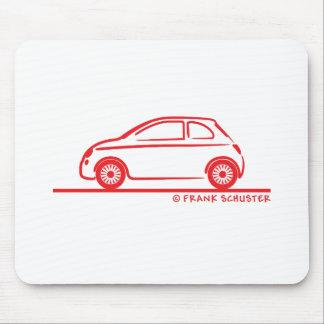 Nuevo Fiat 500 Cinquecento Tapete De Ratones