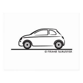 Nuevo Fiat 500 Cinquecento Tarjetas Postales
