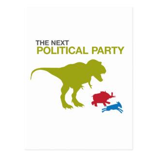 Nuevo fiesta político postales