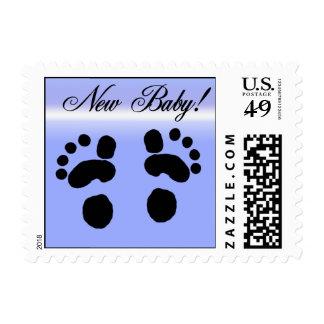Nuevo franqueo del bebé timbres postales