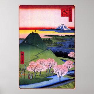 Nuevo Fuji en Meguro Poster