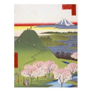 """Nuevo Fuji"" Hiroshige Tarjeta Postal"