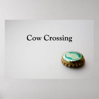 Nuevo Glarus, travesía de la vaca Posters
