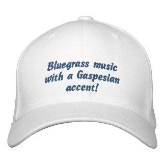 Nuevo gorra del festival del Bluegrass de Richmond Gorro Bordado