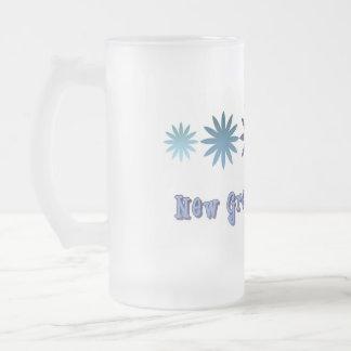 Nuevo gran abuelo taza de cristal