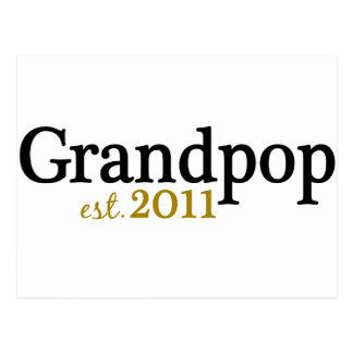 Nuevo Grandpop est 2011 Tarjeta Postal