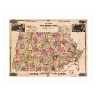 Nuevo HampshirePanoramic MapNew Hampshire Postales