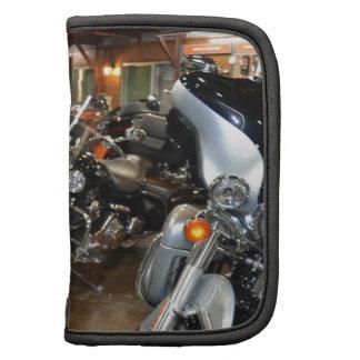 Nuevo Harleys en la sala de exposición Organizadores