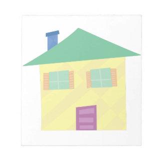 Nuevo hogar blocs de notas