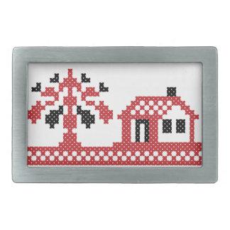 Nuevo hogar hebillas de cinturon rectangulares