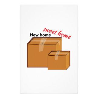 Nuevo hogar papeleria de diseño