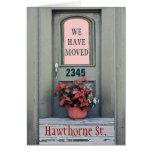 """Nuevo hogar """" VE movimos la tarjeta de felicitació"""