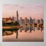 Nuevo horizonte de Dubai Poster