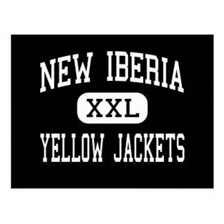 Nuevo Iberia - chaquetas amarillas - alto - nuevo Postal