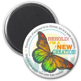 Nuevo imán de la mariposa de la creación