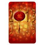Nuevo imán rojo chino de la linterna 2013