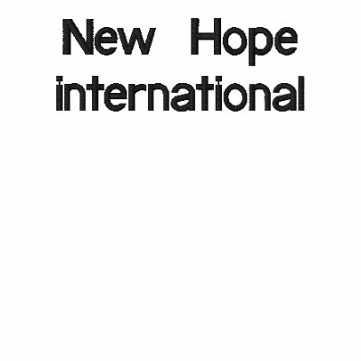 Nuevo international de la esperanza polo enbordado