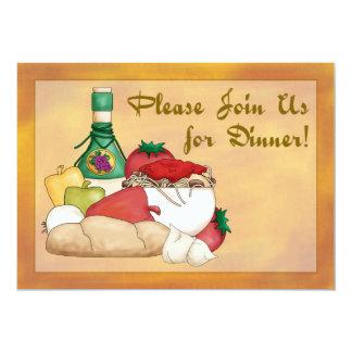 ¡Nuevo! Invitación de la cena de Buon Appetito