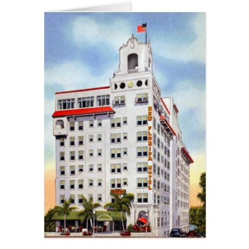 Nuevo la Florida hotel de Lakeland la Florida Tarjeta De Felicitación