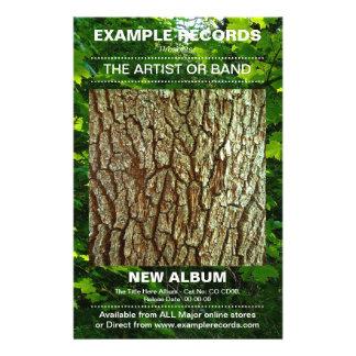 """Nuevo lanzamiento del álbum - foto texturizada folleto 5.5"""" x 8.5"""""""