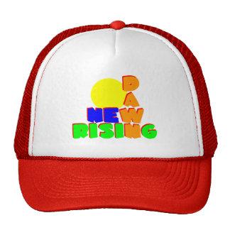 Nuevo levantamiento del amanecer gorras de camionero