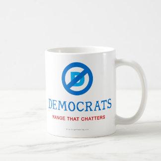 Nuevo logotipo de Demócrata Tazas