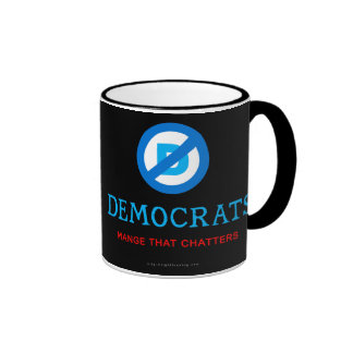 Nuevo logotipo de Demócrata Taza De Café