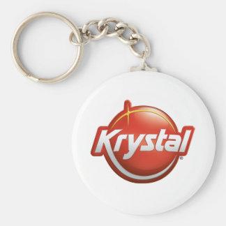 Nuevo logotipo de Krystal Llavero Redondo Tipo Pin