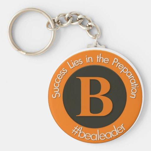 Nuevo logotipo del bealeader llavero