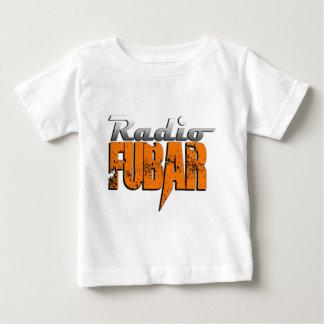 Nuevo logotipo RadioFUBAR Playera De Bebé