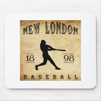 Nuevo Londres Connecticut béisbol de 1898 Alfombrillas De Ratones