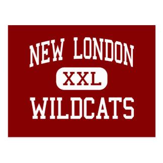 Nuevo Londres - gatos monteses - joven - nuevo Tarjetas Postales