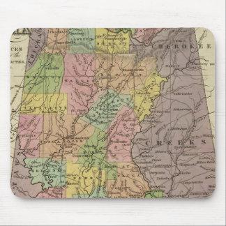 Nuevo mapa de Alabama Tapete De Ratones