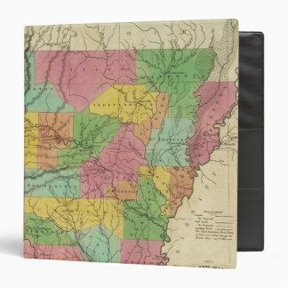 """Nuevo mapa de Arkansas 2 Carpeta 1 1/2"""""""