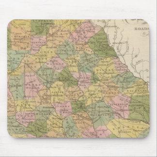 Nuevo mapa de Georgia Tapetes De Raton