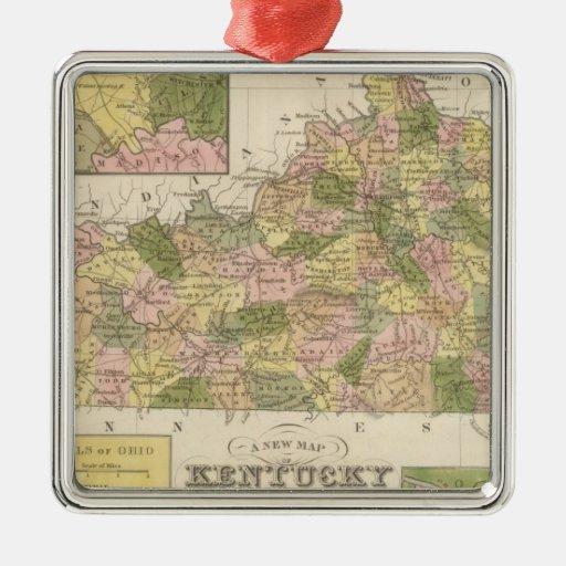 Nuevo mapa de Kentucky 2 Adorno
