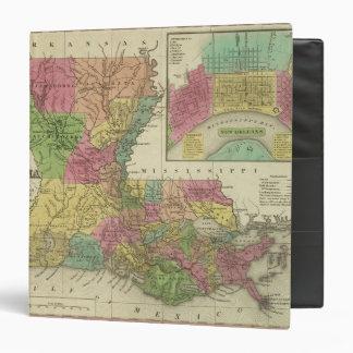 """Nuevo mapa de Luisiana 2 Carpeta 1 1/2"""""""