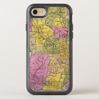 Nuevo mapa de Luisiana 3 Funda OtterBox Symmetry Para iPhone 7