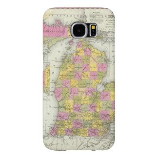 Nuevo mapa de Michigan 2 Funda Samsung Galaxy S6