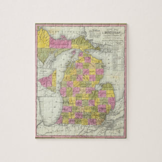 Nuevo mapa de Michigan 2 Puzzles Con Fotos