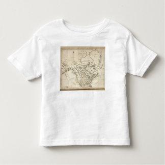 Nuevo mapa de Norteamérica Camiseta